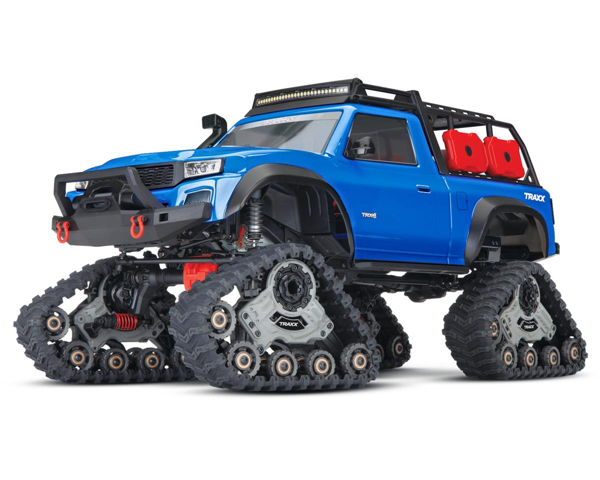 Traxxas TRX-4 1/10 Scale Trail Rock Crawler (Blue) w/All-Terrain Traxx | relatedproducts