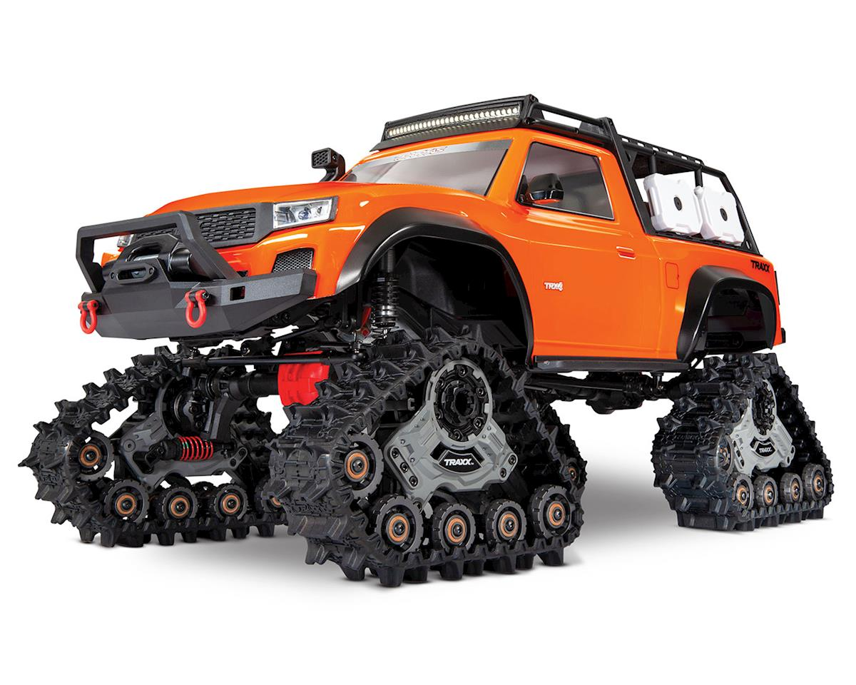 Traxxas TRX-4 1/10 Scale Trail Rock Crawler (Orange) w/All-Terrain Traxx  [TRA82034-4-ORNG] | Rock Crawlers