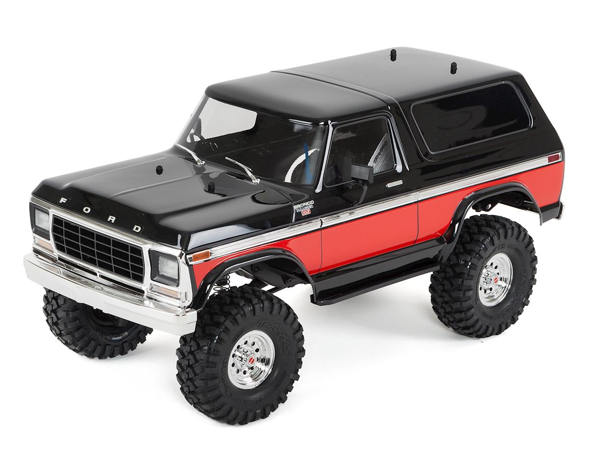 Traxxas TRX-4 1/10 Trail Crawler Truck w/'79 Bronco Ranger XLT Body (Red)
