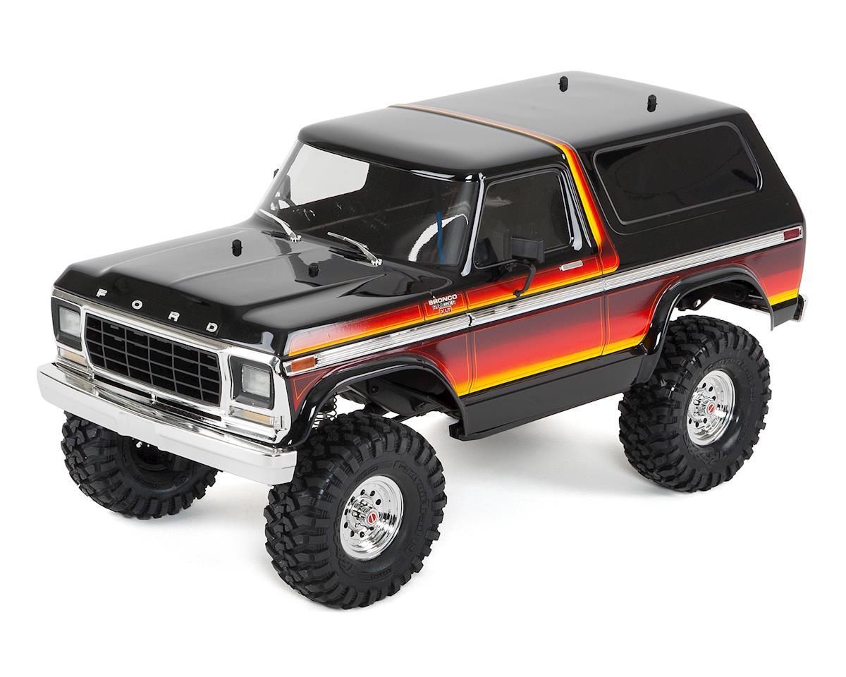 Traxxas TRX-4 1/10 Trail Crawler Truck w/'79 Bronco Ranger XLT Body  (Sunset) w/TQi 2 4GHz Radio