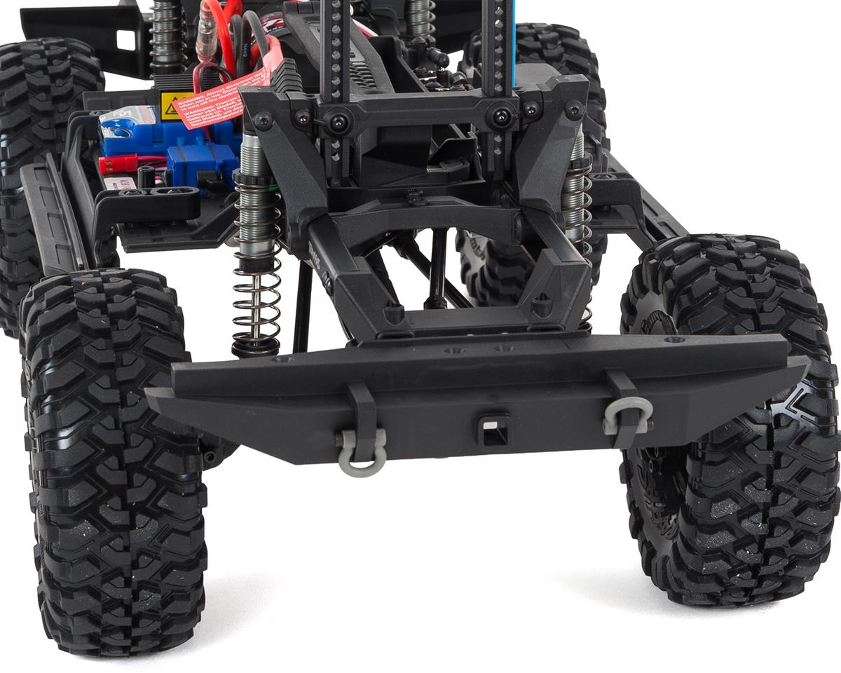 Traxxas TRX-4 1/10 Scale Trail Rock Crawler w/Land Rover Defender Body  (Red) w/XL-5 ESC & TQi 2 4GHz Radio