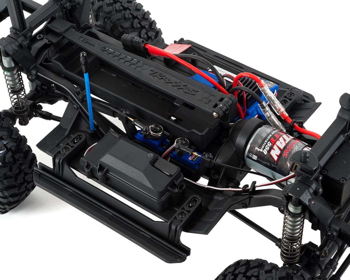 Traxxas Trx 4 1 10 Scale Trail Rock Crawler W Land Rover Defender Stampede Vxl Parts Diagram Slash 4x4 Exploded View Body Red Xl 5 Esc Tqi 24ghz Radio