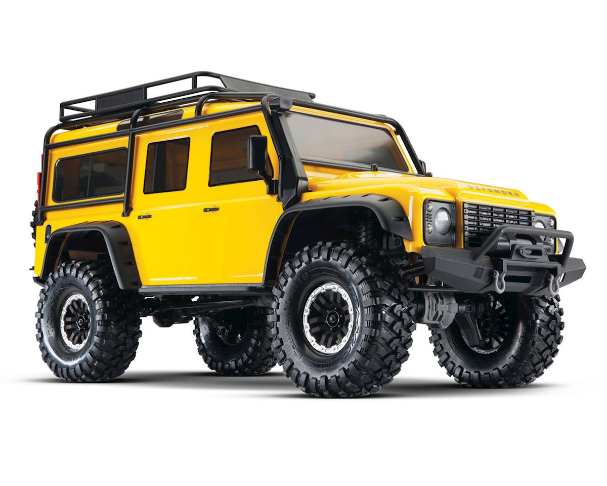 Traxxas TRX-4 1/10 Scale Trail Rock Crawler w/Land Rover Defender Body (Yellow)