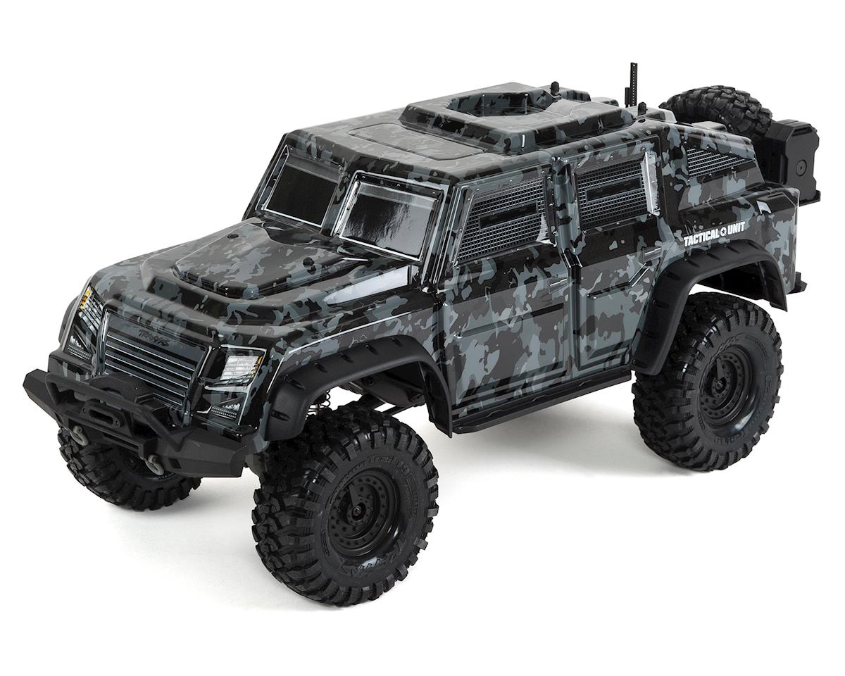 TRX-4 Tactical 1/10 Scale Trail Rock Crawler w/Tactical Unit Body