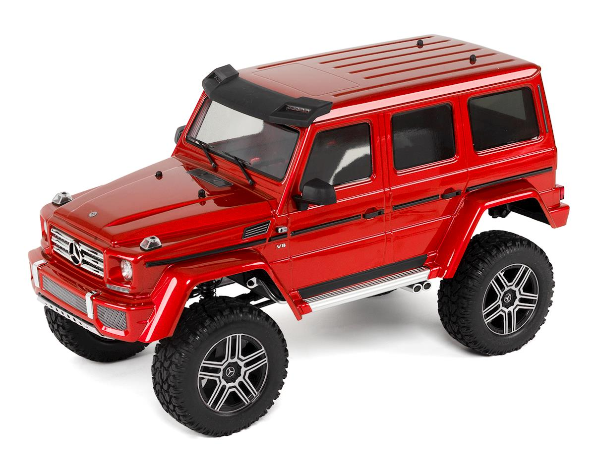 Traxxas TRX-4 1/10 Trail Crawler Truck w/Mercedes-Benz G500 4X4² Body (Red)