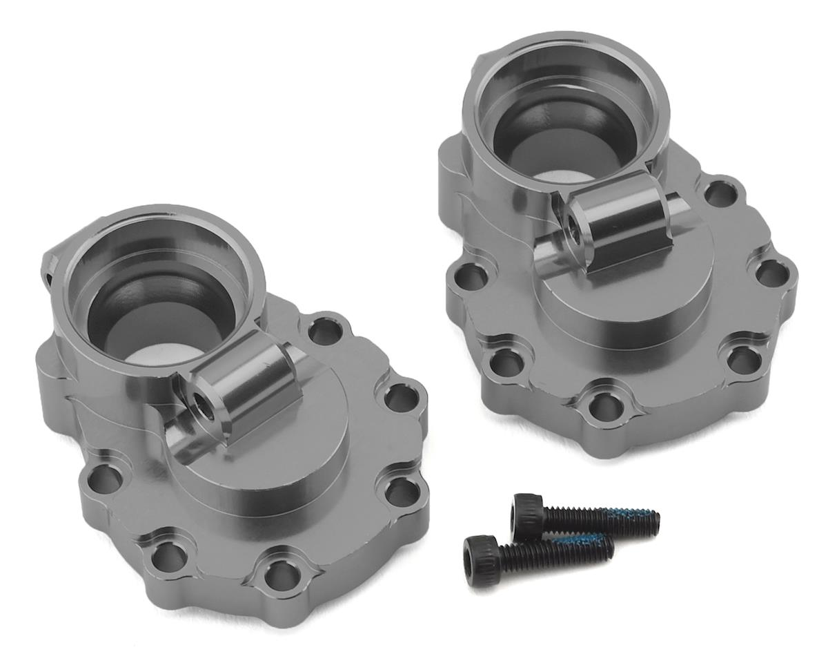 Traxxas TRX-4 Aluminum Rear Inner Portal Drive Housing Set (Charcoal Grey)