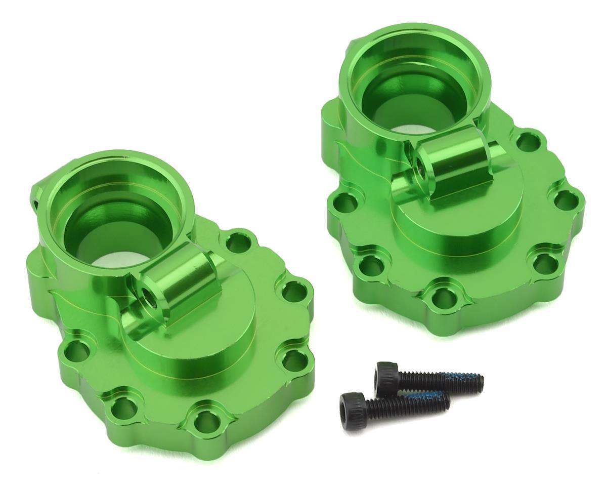 Traxxas TRX-4 Aluminum Rear Inner Portal Drive Housing Set (Green)
