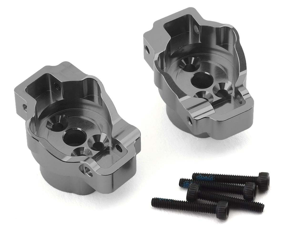 Traxxas TRX-4 Aluminum Rear Portal Drive Axle Mounts (Charcoal Grey)
