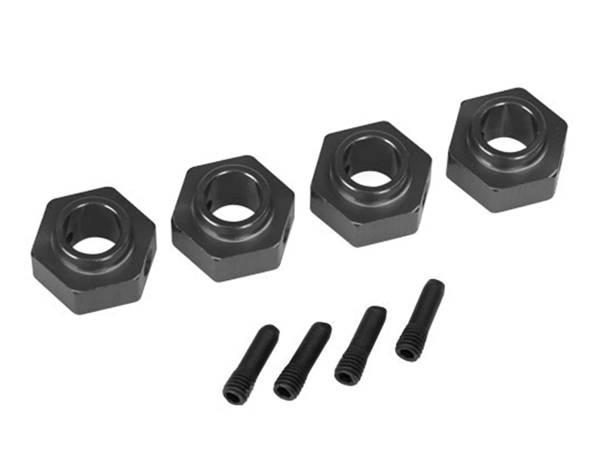 Traxxas TRX-4 12mm Hex Aluminum Wheel Hubs (Grey) (4) | relatedproducts