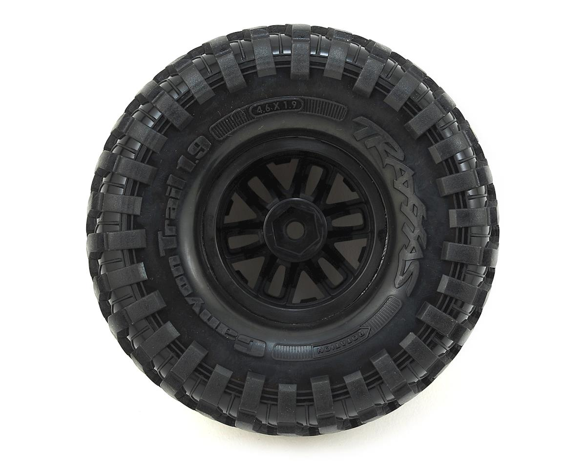 TRX-4 Pre-Mounted Canyon Trail 1.9 Crawler Tires w/TRX-4 Wheels (S1) (2) by Traxxas