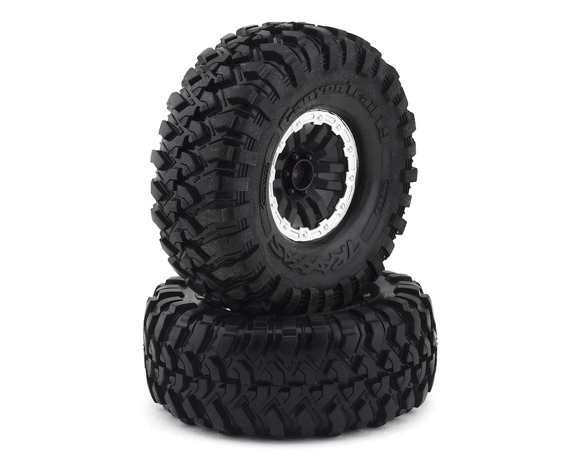 "Traxxas TRX-4 Pre-Mounted Canyon Trail 1.9"" Crawler Tires (Black) (2) (S1)"