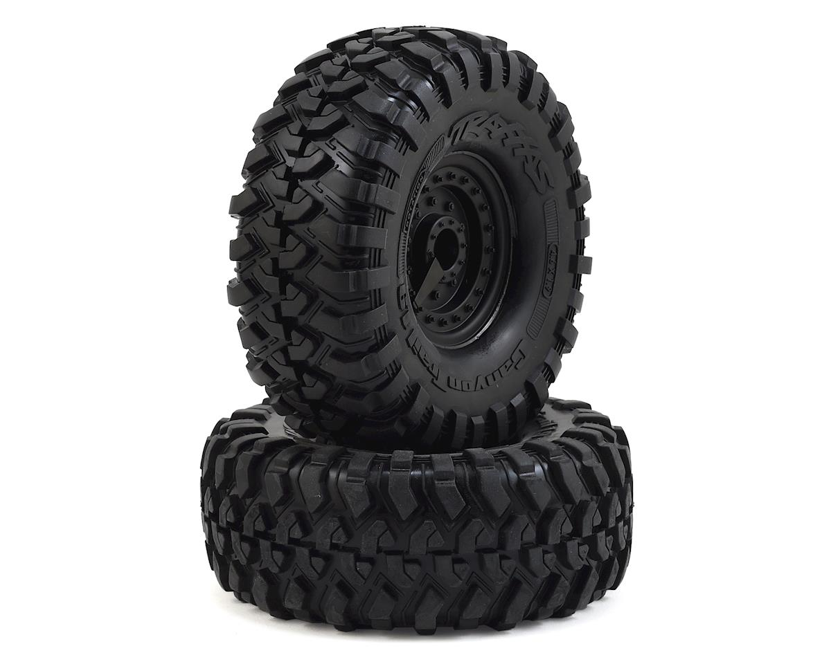 Traxxas TRX-4 Canyon Trail Pre-Mounted 1.9 Crawler Tires w/Tactical Wheels (S1)