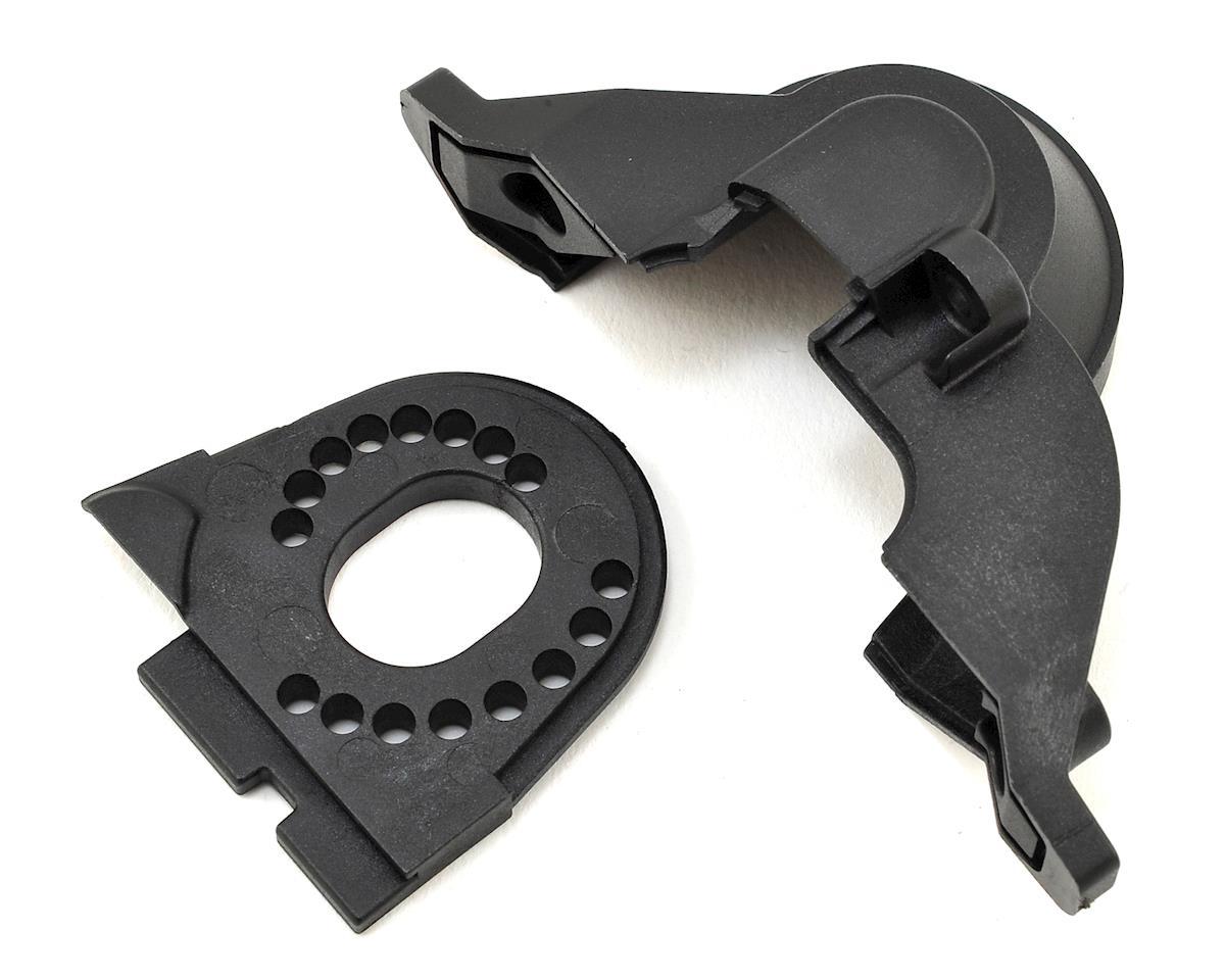 Traxxas TRX-4 Motor Plate & Upper Spur Gear Cover