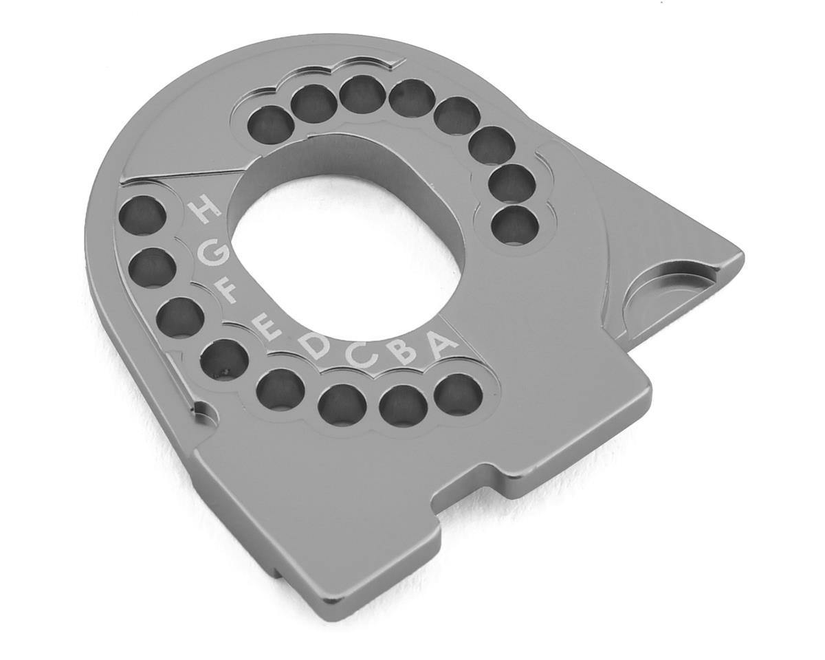Traxxas TRX-4 Aluminum Motor Mount Plate (Charcoal Grey)