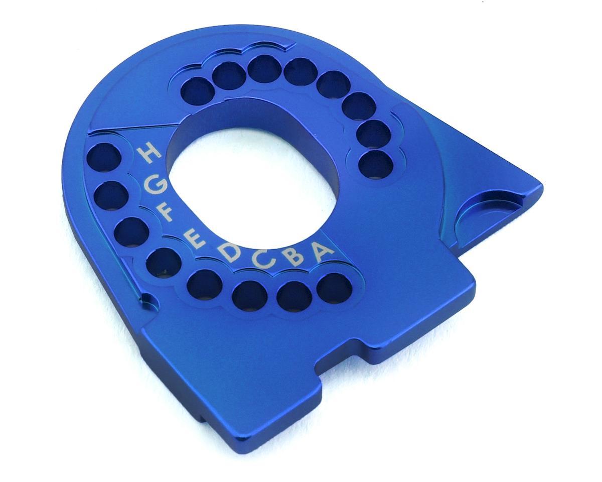Traxxas TRX-4 Aluminum Motor Mount Plate (Blue)