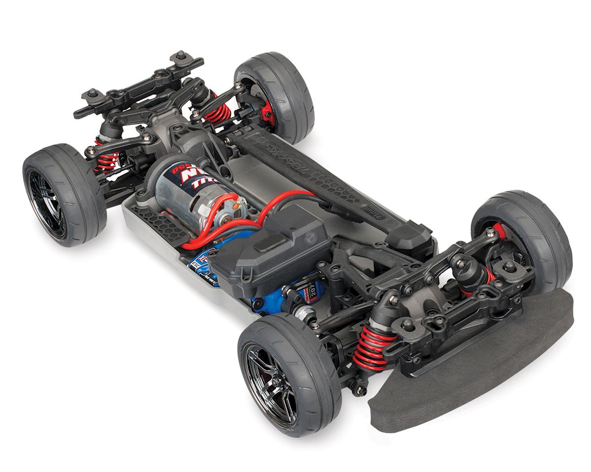 Traxxas 4-Tec 2.0 1/10 Brushed RTR Touring Car Chassis (NO Body)