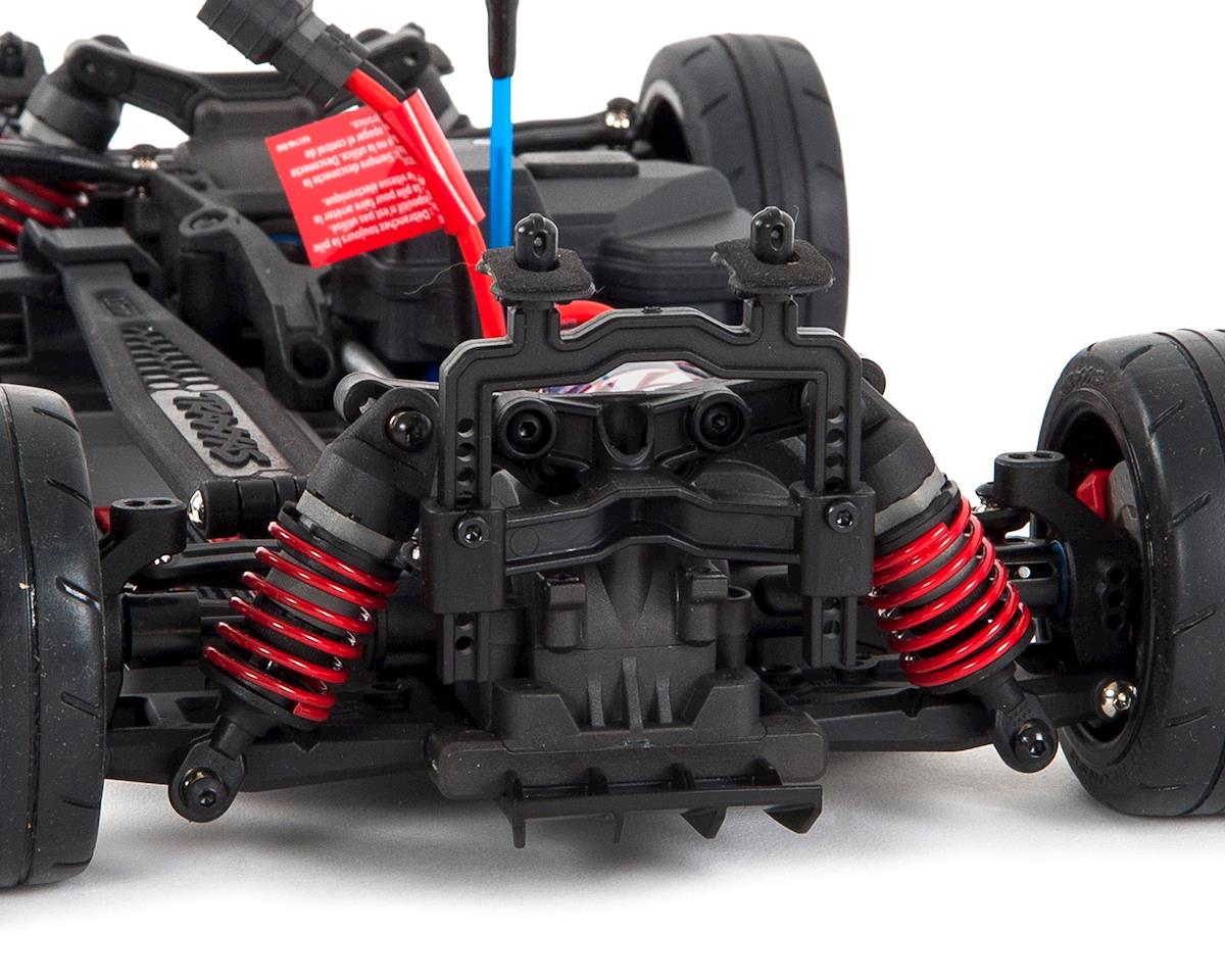 Black TRA83056-4-BLK Traxxas 4-Tec 2.0 1//10 RTR Touring Car w//Ford GT Body