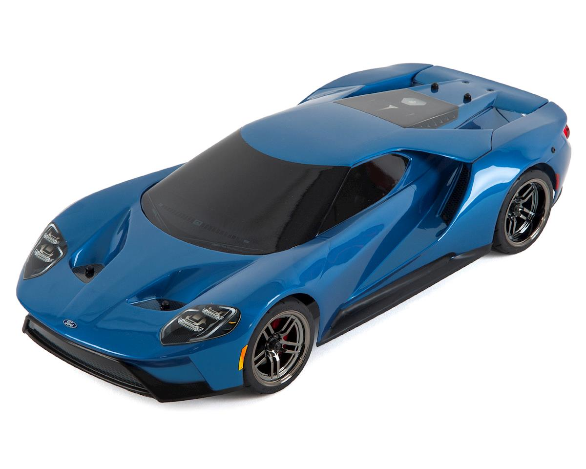 Traxxas 4-Tec 2.0 1/10 RTR Touring Car w/Ford GT Body (Blue) [TRA83056-4- BLUE] | Cars u0026 Trucks - AMain Hobbies  sc 1 st  AMain Hobbies & Traxxas 4-Tec 2.0 1/10 RTR Touring Car w/Ford GT Body (Blue ... markmcfarlin.com