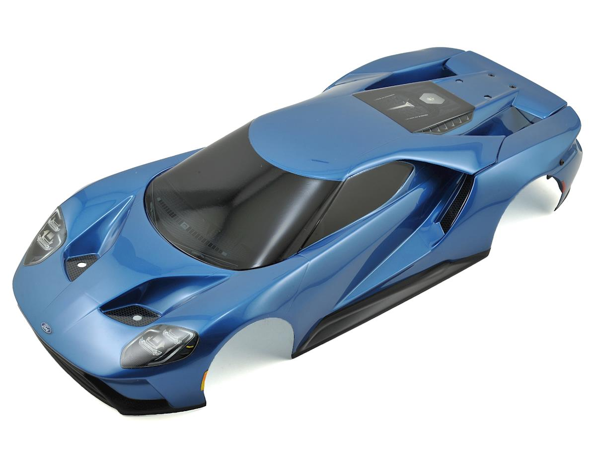 Traxxas Complete Ford GT Pre-Painted Body (Blue)