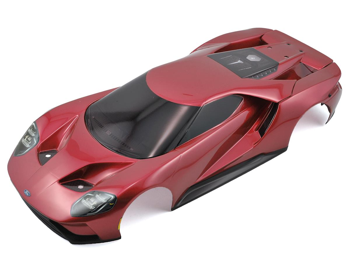 Traxxas Complete Ford GT Pre-Painted Body (Red)