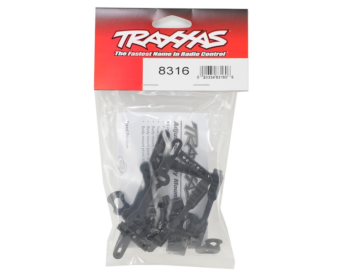 Traxxas 4-Tec 2.0 Front & Rear Body Mount Posts & Slider Set