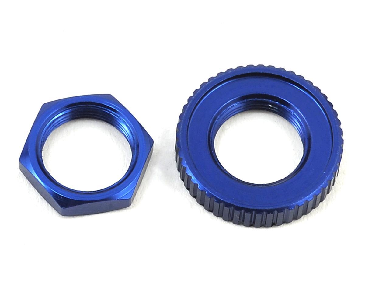 Traxxas 4-Tec 2.0 Aluminum Servo Saver Nuts (Blue)