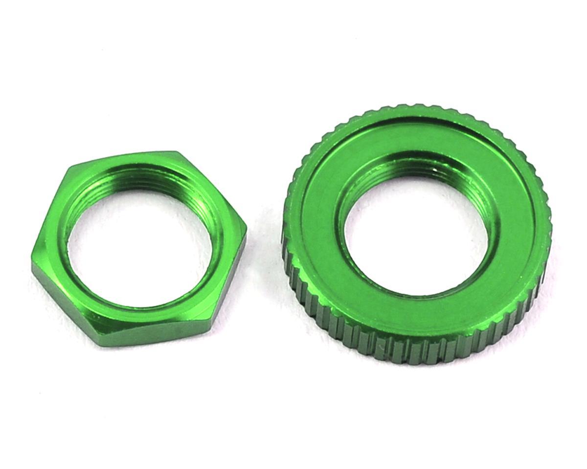 Traxxas 4-Tec 2.0 Aluminum Servo Saver Nuts (Green)