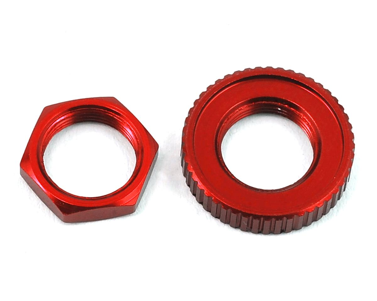 4-Tec 2.0 Aluminum Servo Saver Nuts (Red) by Traxxas
