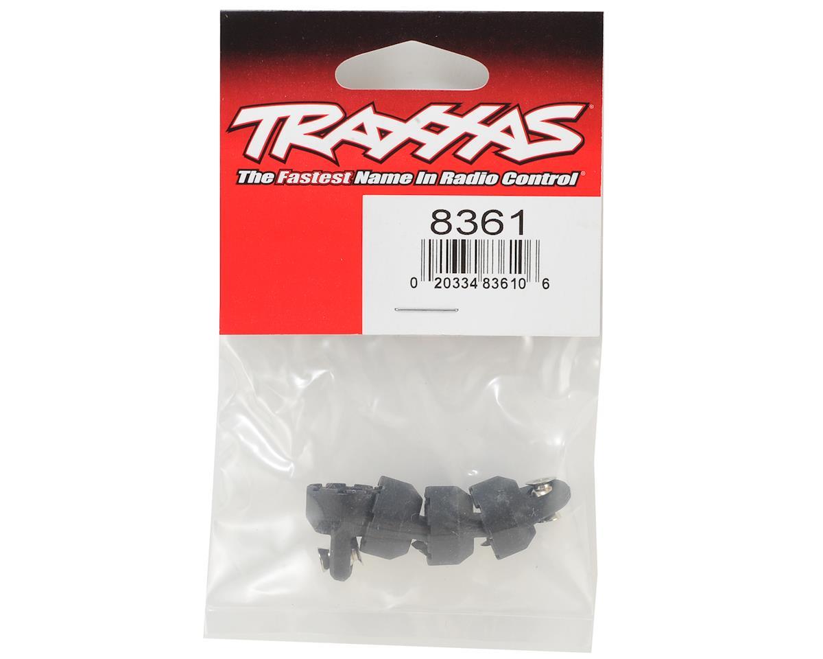 4-Tec 2.0 Shock Caps (Black) (4) by Traxxas