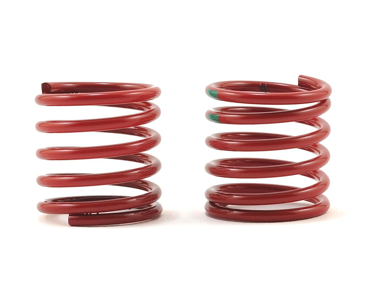 Traxxas 4-Tec 2.0 Shock Spring +2 (Red, Black Stripe) (2)