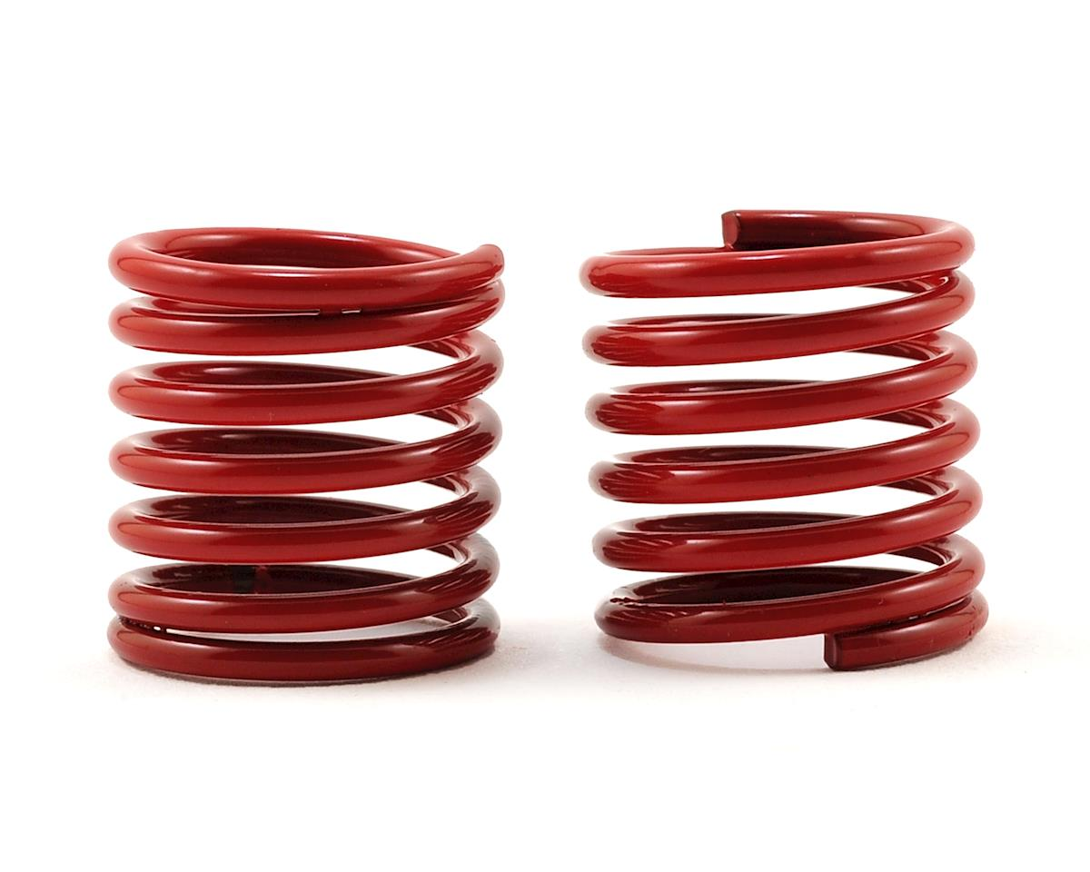 Traxxas 4-Tec 2.0 Shock Spring (Red) (2) (4.4 Rate, Green Stripe)