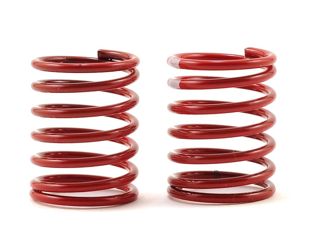 Traxxas 4-Tec 2.0 Shock Spring -2 (Red, White Stripe) (2)