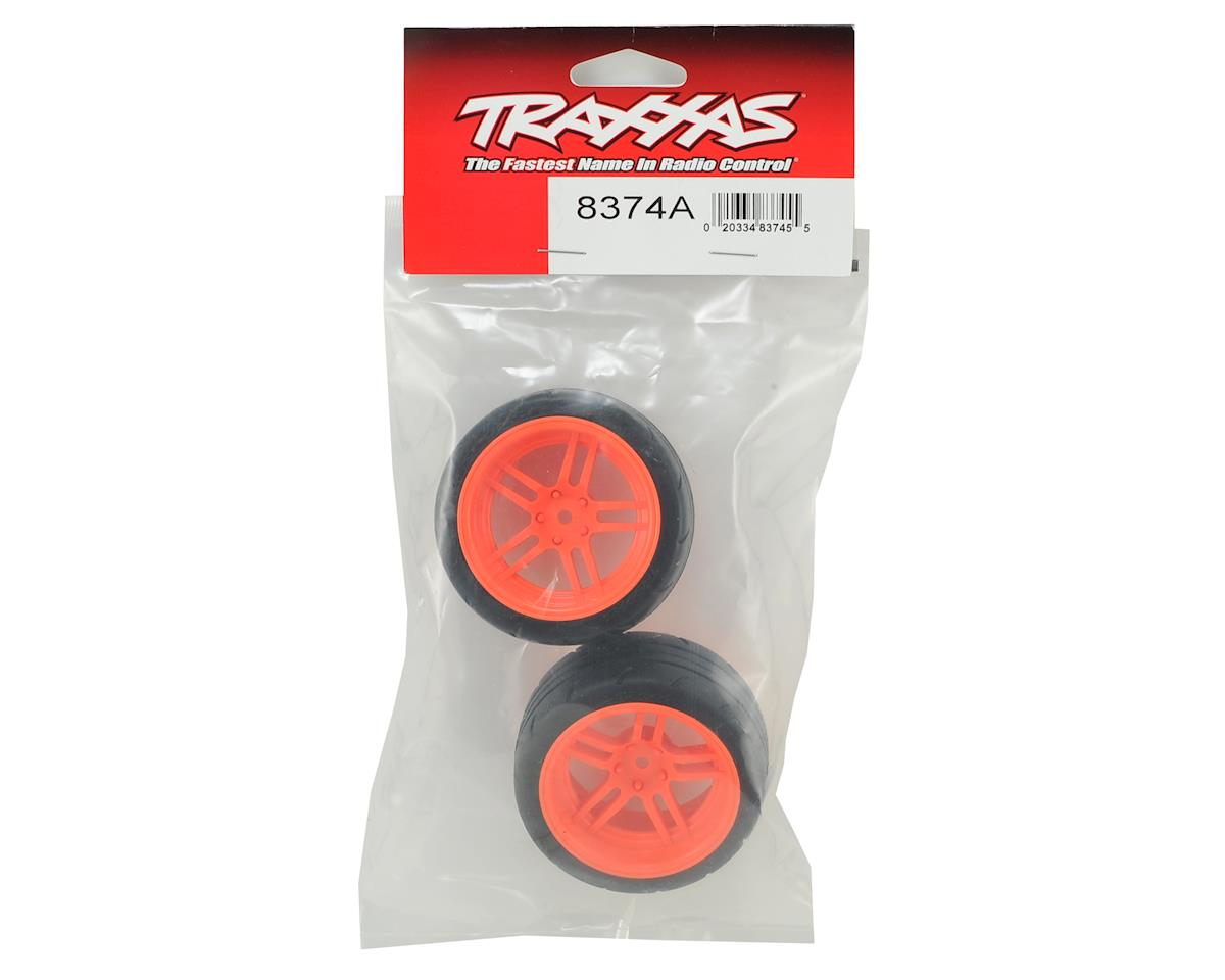"Traxxas 4-Tec 2.0 1.9"" Response X-Tra Wide Rear Pre-Assembled Tires"