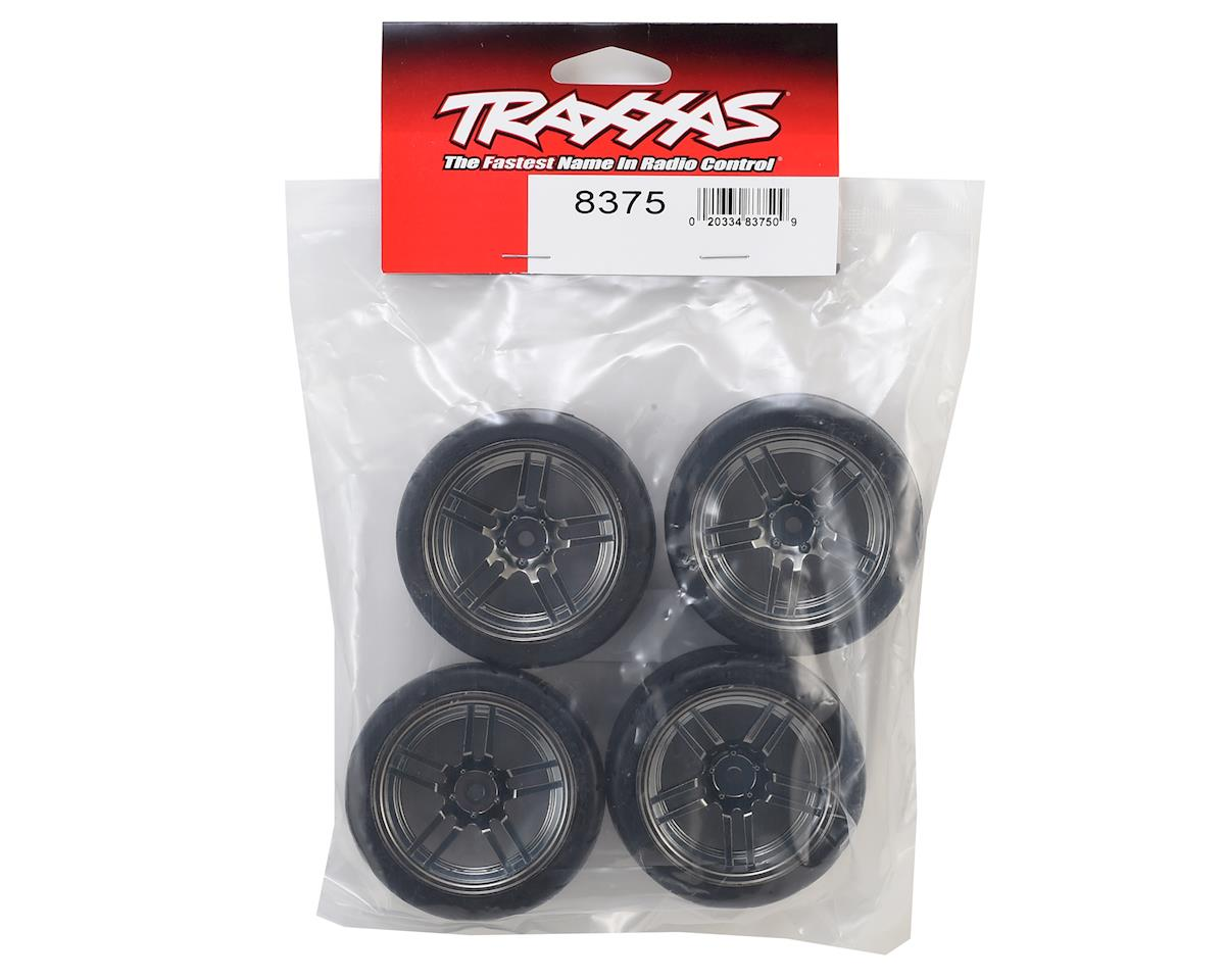 "Traxxas 4-Tec 2.0 1.9"" Response Front & Rear Pre-Mounted Tires (Black Chrome)"