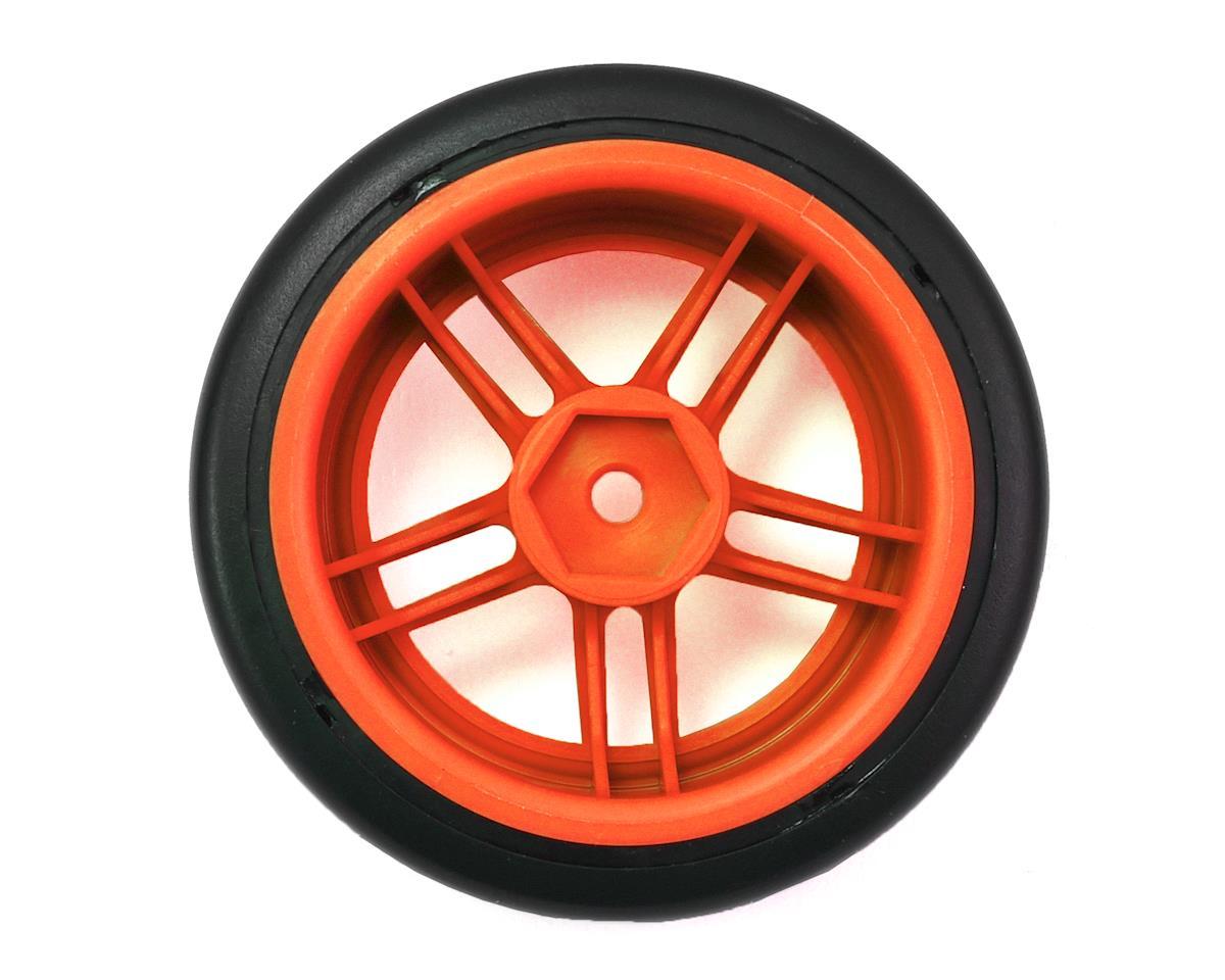 "Traxxas 4-Tec 2.0 1.9"" Rear Pre-Mounted Drift Tires (Orange)"