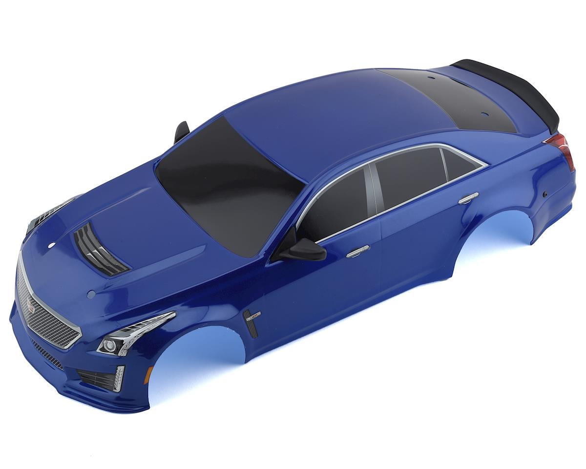 Traxxas Cadillac CTS-V Pre-Painted 1/10 Touring Car Body (Blue)