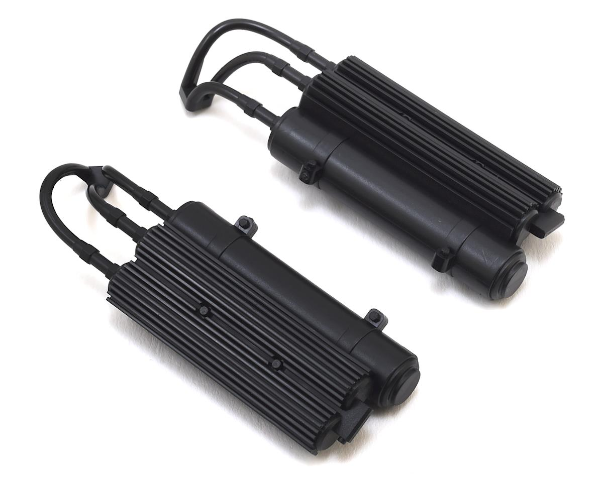 Traxxas Unlimited Desert Racer Shock Reservoirs (Black) (2)