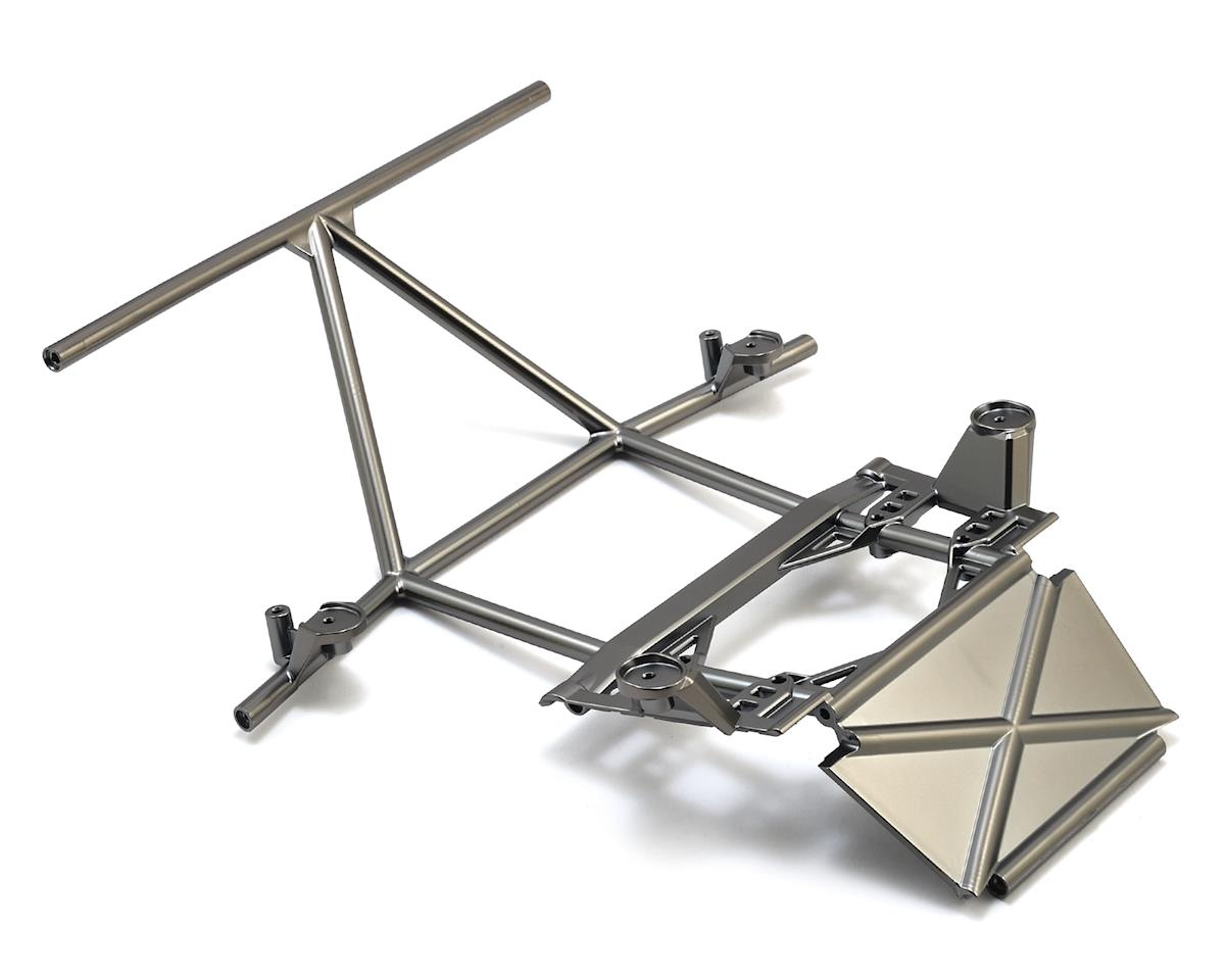 Traxxas Unlimited Desert Racer Tube Chassis Front Center Section (Satin Black)