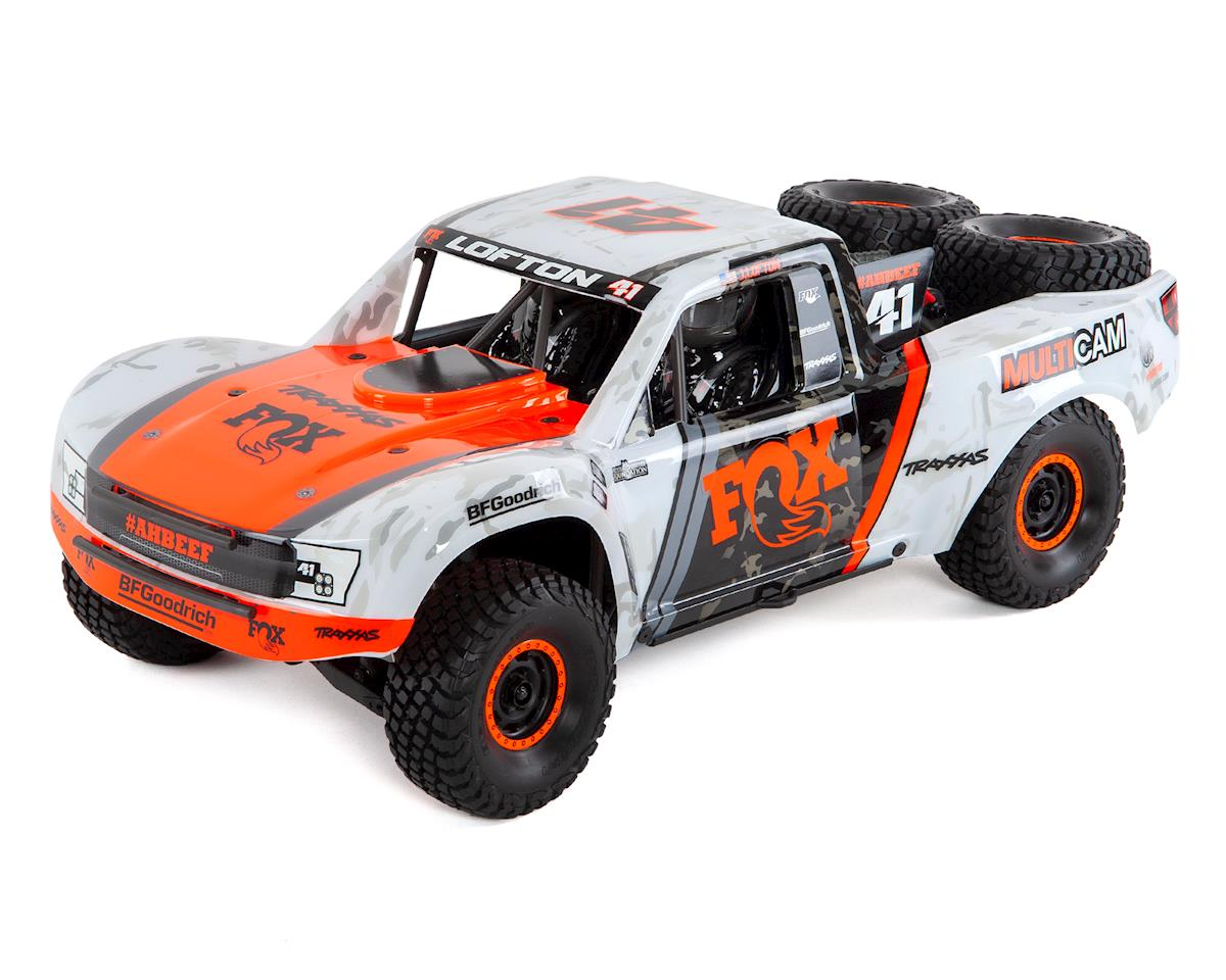 Traas Unlimited Desert Racer Udr 6s Rtr 4wd Electric Race Truck Fox Racing Tra85076 4 Cars Trucks Hobbytown
