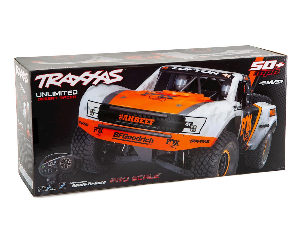 Unlimited Desert Racer UDR 6S RTR 4WD Electric Race Truck (Fox ...
