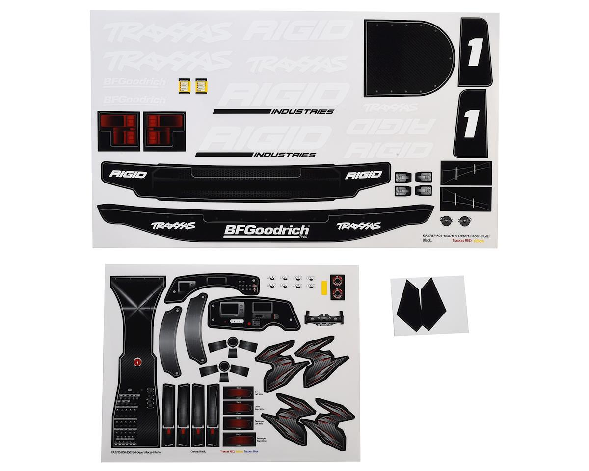 Unlimited Desert Racer Rigid Industries Edition Decal Set by Traxxas