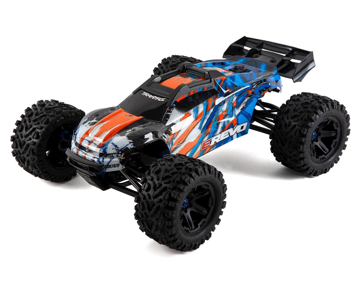 Ready To Run Rtr Electric Powered Rc Monster Trucks Amain Hobbies Revo Fit Raving Red Brebes Traxxas E Vxl 20 4wd Truck Orange