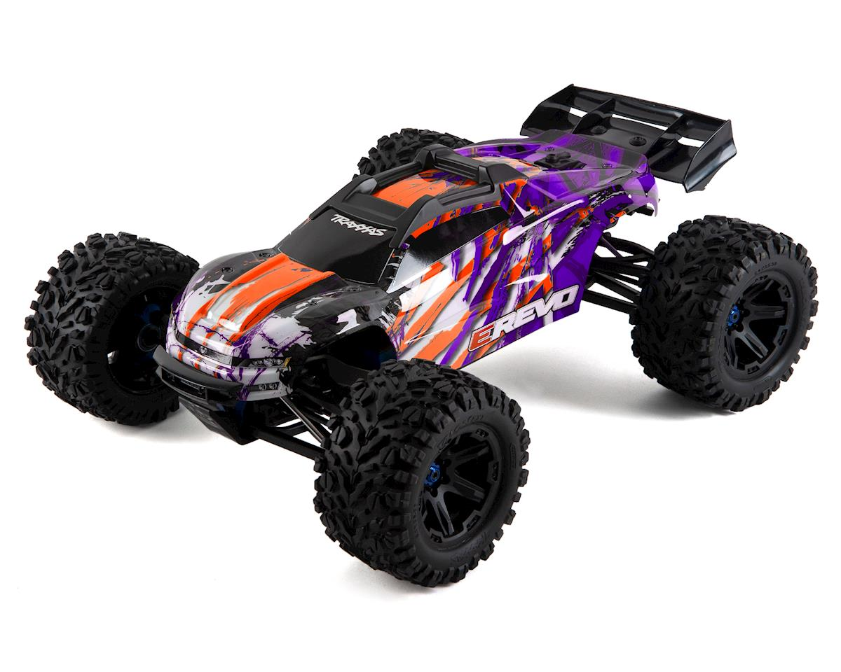 Traxxas E-Revo VXL 2.0 RTR 4WD Electric 6S Monster Truck (Purple)