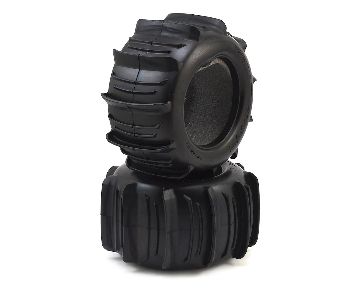 "Traxxas 3.8"" Monster Truck Paddle Tires (2)"