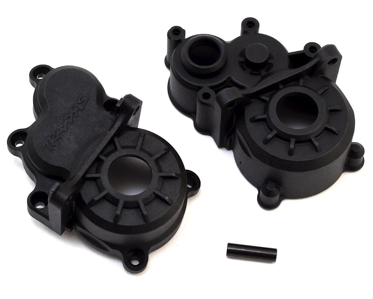Traxxas E-Revo VXL 2.0 Transmission Gearbox Halves w/Idler Gear Shaft