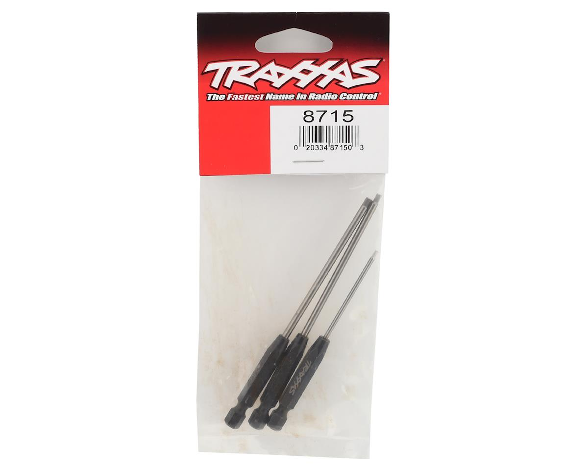 "Traxxas Speed Bit 1/4"" Drive Hex Driver Set (3)"