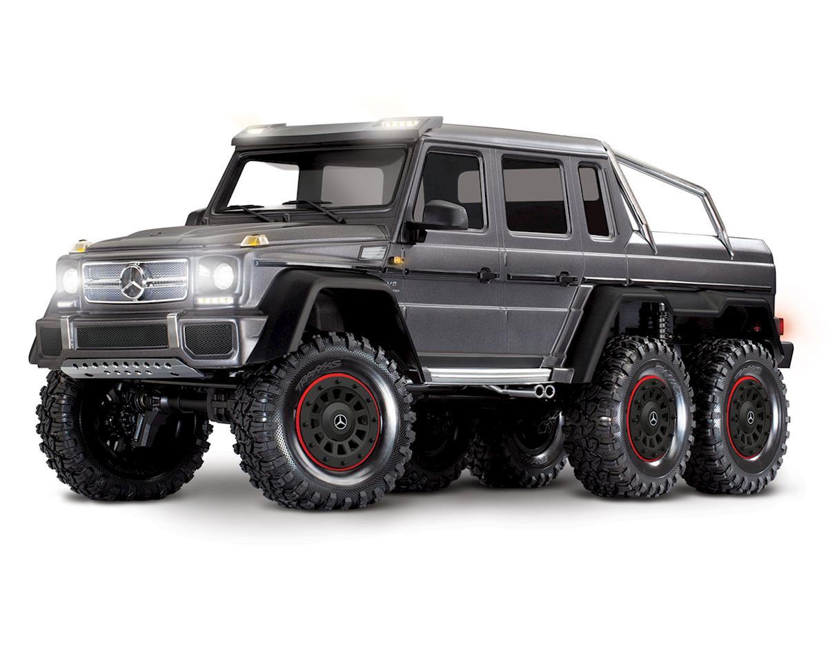 Traxxas TRX-6 1/10 6x6 Trail Crawler Truck w/Mercedes-Benz G 63 AMG Body(Silver)