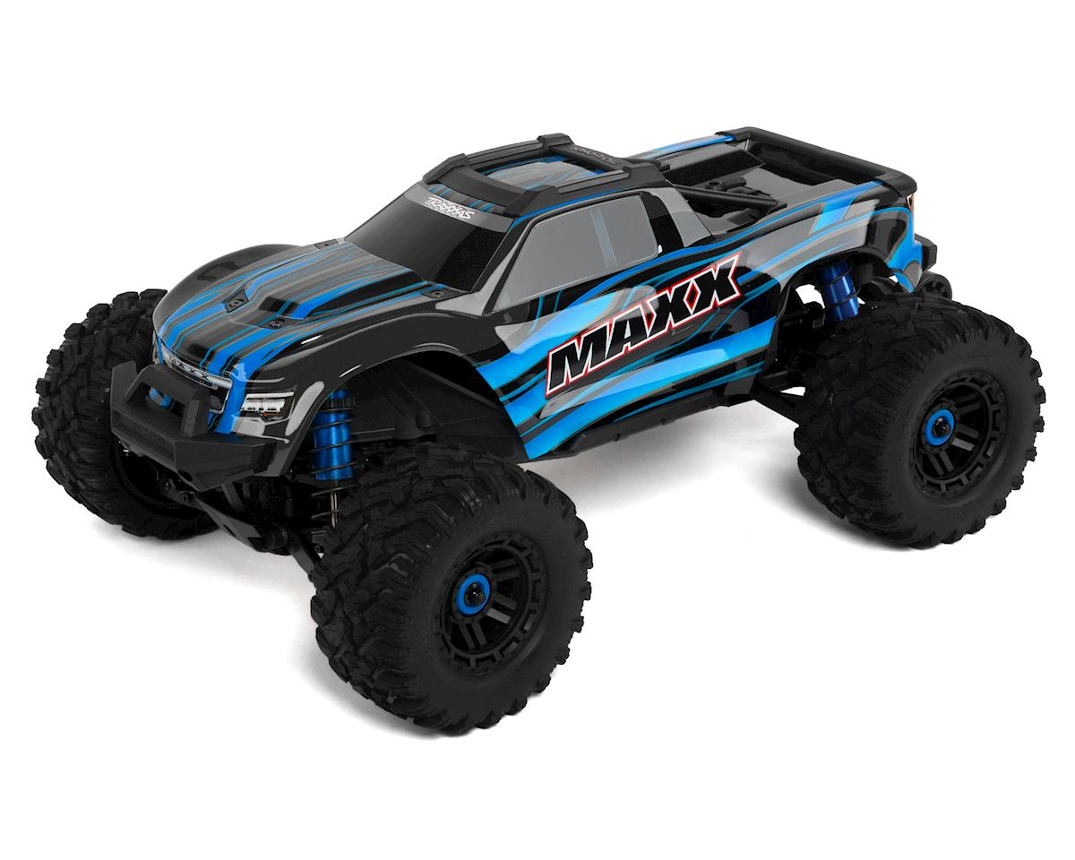 Traxxas Maxx 1/10 Brushless RTR 4WD Monster Truck (Blue)