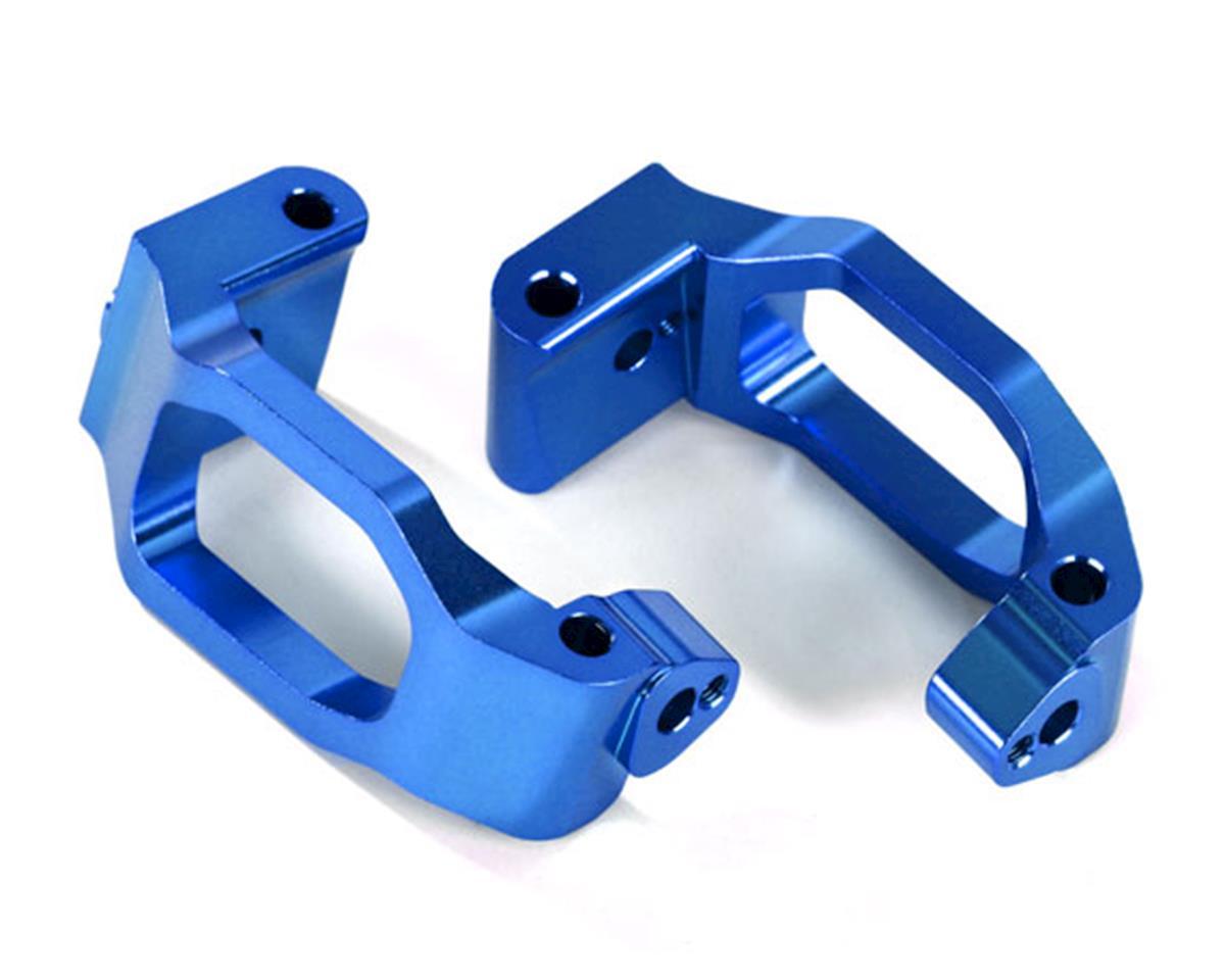 Traxxas Maxx Aluminum Caster Blocks (Blue)