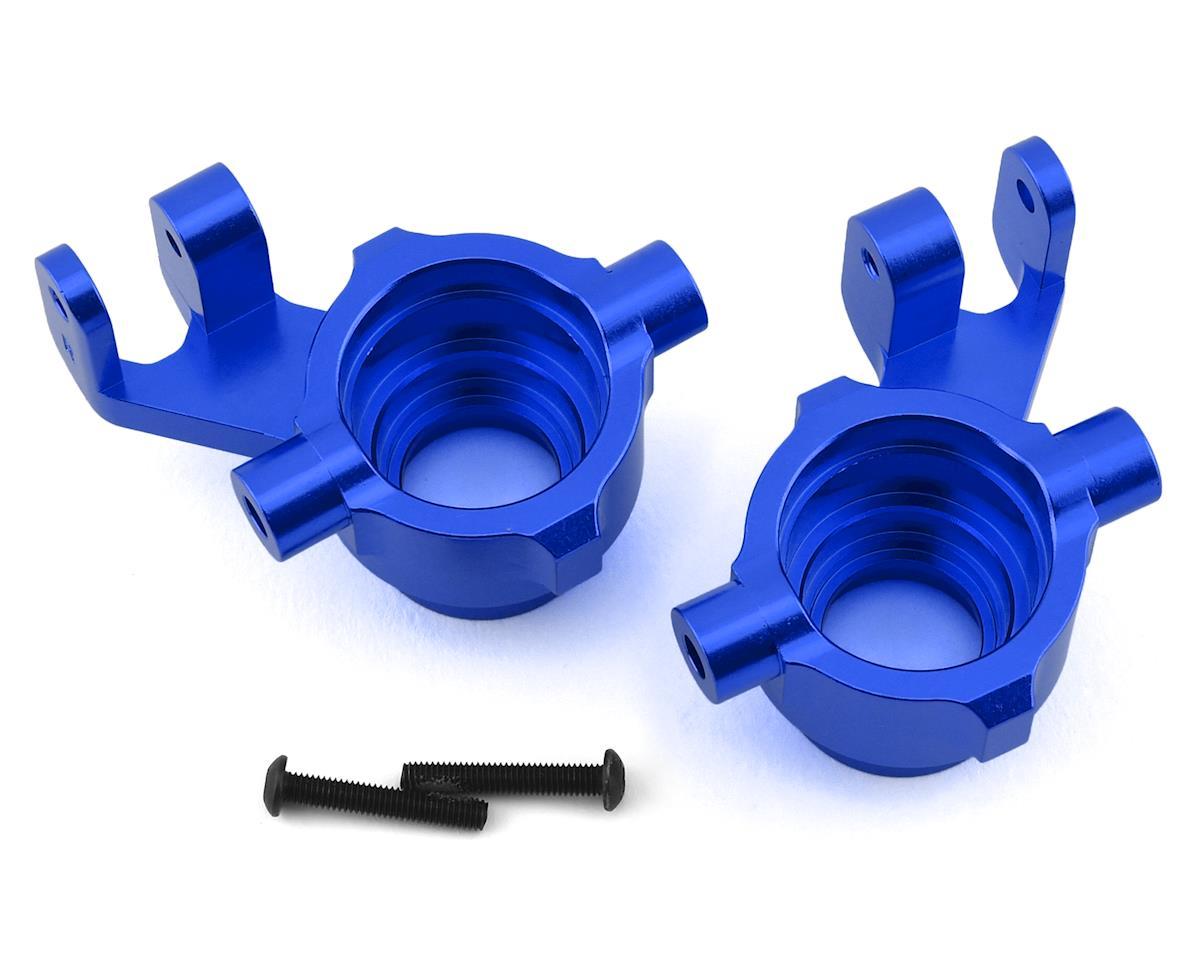 Traxxas Maxx Aluminum Steering Blocks (Blue)